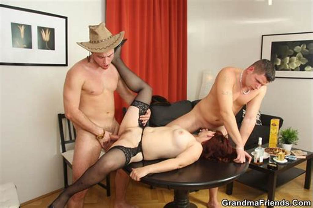 #Seductive #Mature #Lady #Seduced #And #Stuffed #By #The #Hunky