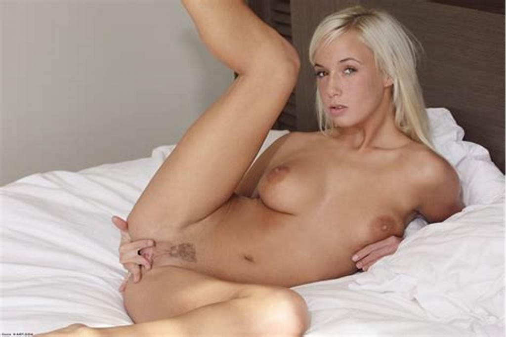 #White #Haired #Teen #Natali #Blond #Gives #A #Close
