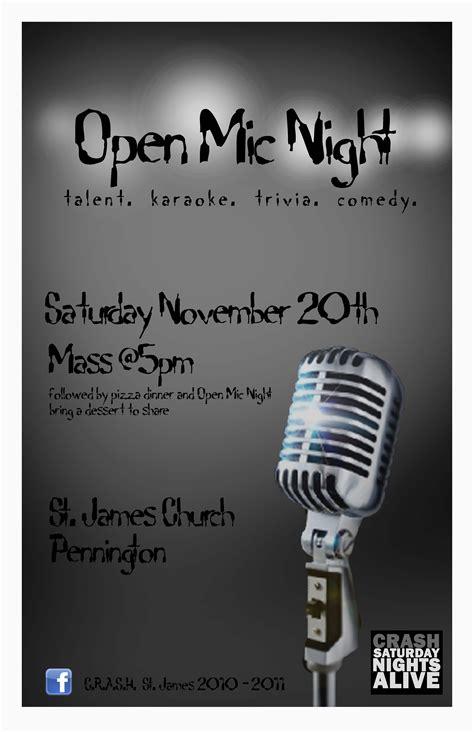 foto de Open Mic Night Poster Kristin Hingstman wants to work
