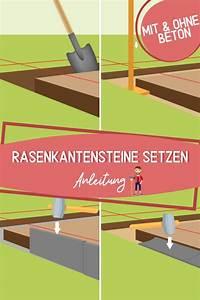 Blockstufen Ohne Beton Setzen : rasenkantensteine setzen mit und ohne beton verlegen ~ A.2002-acura-tl-radio.info Haus und Dekorationen