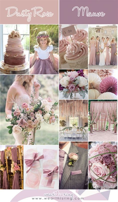 Top 20 Wedding Color Combinations of All Time Wear this