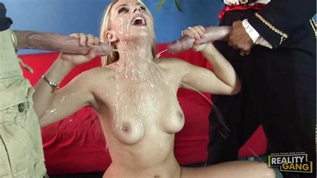 #Sweetheart #Lexi #Belle #Gets #Double #Cummed #On #The #Face #After
