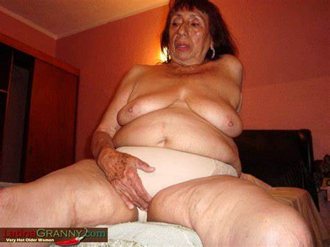 Granny With Big Breasty Having Topless
