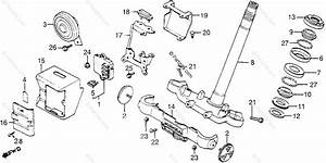 Honda Motorcycle 1983 Oem Parts Diagram For Steering Stem