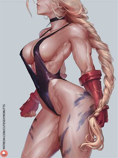 Cammy Cutesexyrobutts Fighter Street Hentai Foundry Artist