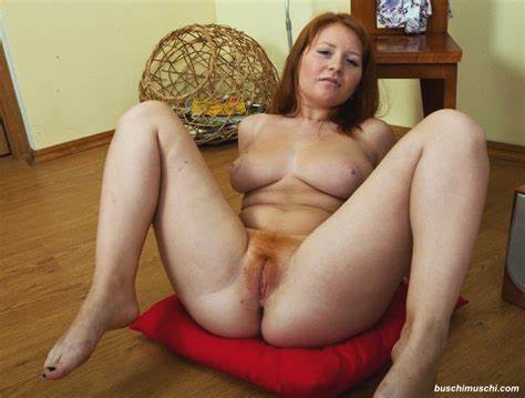 Lady Red Haired Girlfriend Chubby