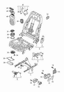 2010 Audi S5 Coupe Small Parts Kit Motor For Backrest