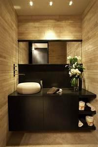 la vasque en pierre en 72 photos With salle de bain design avec vasque en pierre blanche