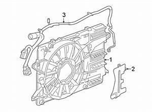 Buick Regal Sportback Engine Cooling Fan Assembly
