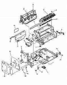 Hp Laser Printer Parts For Model 3100 And 3150 Internal