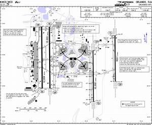 Kmco Airport Diagram