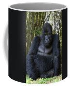 If you know us, you know we like our beans #fresh and our coffee #hot ! Mountain Gorilla Silverback Photograph by Suzi Eszterhas