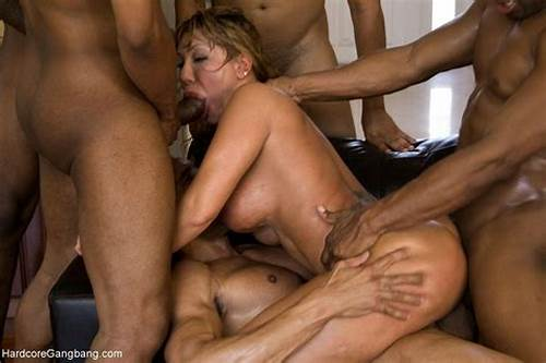Gangbang Sharing Pigtails Penis #Rich #Milf #Taken #Down #Gangbanged #By #Her #Daughters #Black