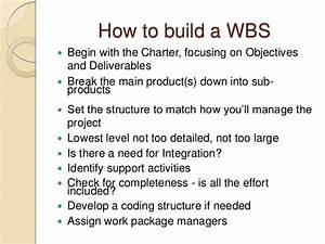 Work Breakdown Structure Ppt