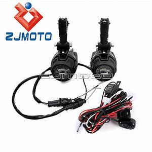 Motorcycle Fog Driving Light Wiring Harness For Bmw