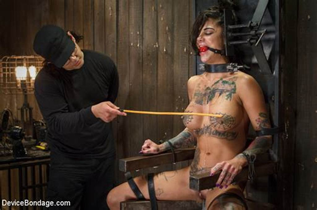 #Tattooed #Bonnie #Rotten #Screaming #Out #In #Bondage #Pleasure