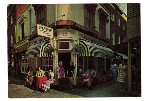 These five coffee shops in brixton, south london are a great place to start your day in london and perfect for catching up with friends or for hiding out for a while. The Village,Mayfair's Coffee Shop,London - unposted c 1970s#4451