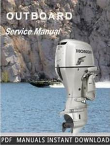 Marine Outboard Bf75a Bf90a Service Repair Manual Instant