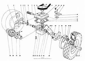 Toro 16273  Whirlwind Lawnmower  1974  Sn 4000001