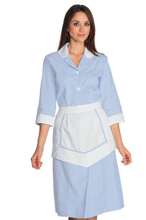 tenue de femme de chambre ensemble femme de chambre 100 coton blouse femme de chambre