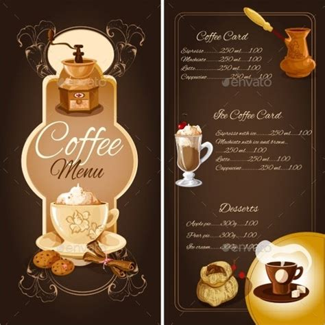 ✓ free for commercial use ✓ high quality images. 30+ Coffee/Cafe Menu Templates - Free PSD, EPS Documents ...