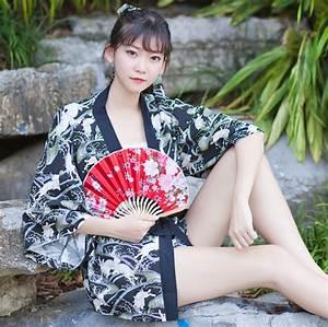 Aliexpress, Com, Buy, Super, Cute, Japanese, Kimono, Yukata, Style, Jade, Hare, The, Moon, Rabbit, Trench