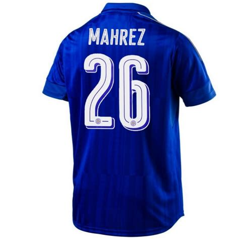For all supporter enquiries, please tweet @lcfchelp. Maglia calcio Leicester City FC Home 2016/17 Mahrez 26 ...