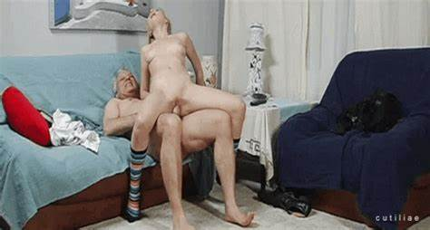 Older Woman Stretched By Plump Daddy Old Bf Nailed Anal Gif