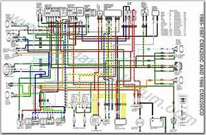 Wiring Diagram Rebel 86 Cmx250honda