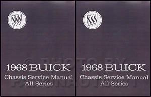 1968 Buick Repair Shop Manual Original All Models