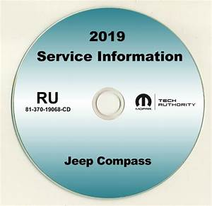 2019 Jeep Compass Shop Service Repair Manual Cd Sport