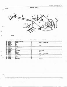 John Deere 317 Hydrostatic Tractor Parts Catalog Album