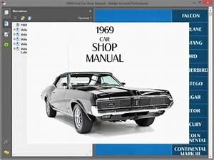 Mercury Cougar  1969  - Service Manual