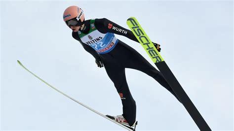 Fis skispringen coc in brotterode 2021. Karl Geiger gewinnt Qualifikation in Garmisch ...