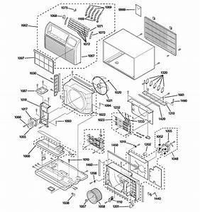 Ge Ajes09dcbm1 Room Air Conditioner Parts