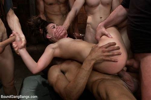 Crazy Swinger Pounding Gangbang