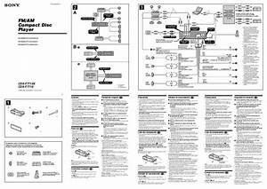 Sony Cdx-gt700 Manual