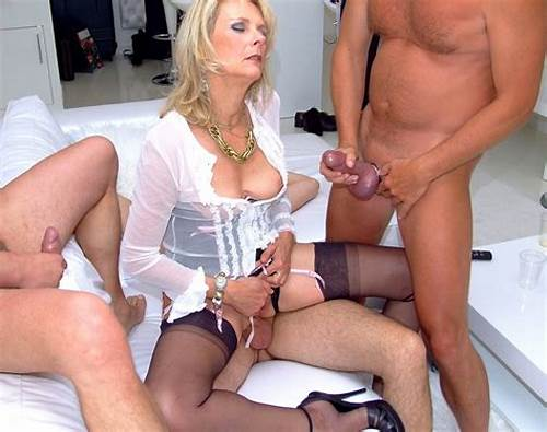 Sultry English Milf Banged In Her Pussy #Gangbang