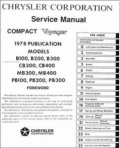 1977 Dodge B100 Wiring Diagram