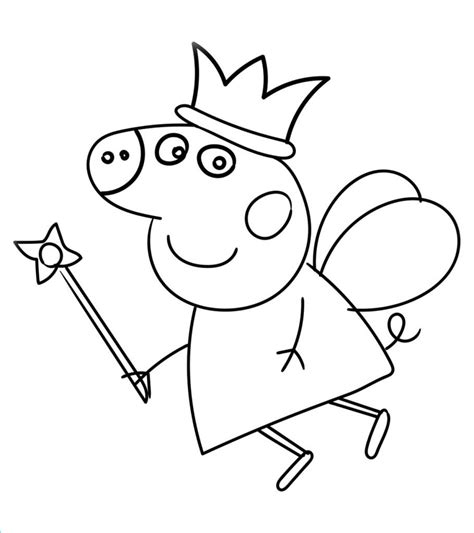 25 Best Coloring Pages for Kids Peppa Pig Home Family