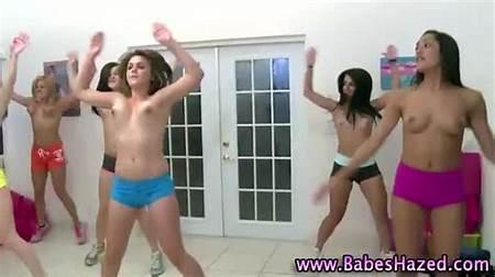 Teens Nude Exercising