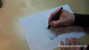 Wie Hält Man Ein Weinglas : total edel glas zeichnen lernen online perfekte reflektionen im wasserglas youtube ~ Watch28wear.com Haus und Dekorationen