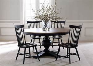 Ethan allen maple dining room table and chairs dining room for Ethan allen dining chairs design