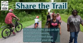 Bike safety and trail etiquette Portage County OH