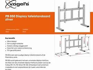 Leaflet Version 4 0 Pb 050 Display Tafelstandaard Zilver