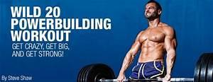 Wild 20 Powerbuilding Workout  Get Crazy  Get Big  U0026 Strong