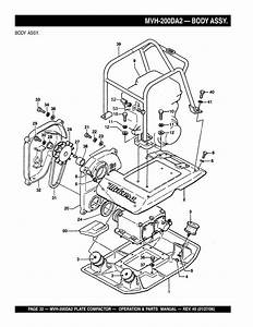 Plate Compactor Parts Diagram