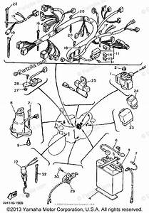 Yamaha Motorcycle 1991 Oem Parts Diagram For Electrical
