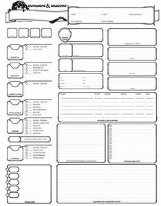 Dungeons And Dragons 5 Edition Deutsch Pdf : dungeons dragons 5th edition character sheet dungeons dragons characters dnd character ~ A.2002-acura-tl-radio.info Haus und Dekorationen