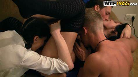 Massive Chested Blonde Fondles Her Gash
